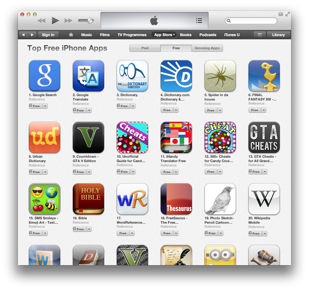 The Spider in da house app hit the top 5 in the App Store