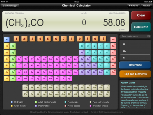 Chemcalc best science app for both your ipad and android tablet chemcalc ipad app urtaz Images