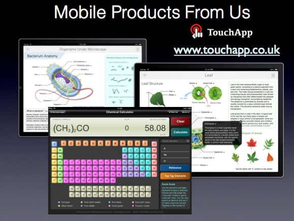 mobile app products